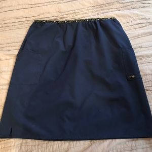 C.Saucy scrub skirt